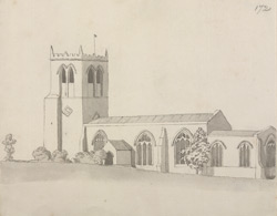 Cuckney church f.172